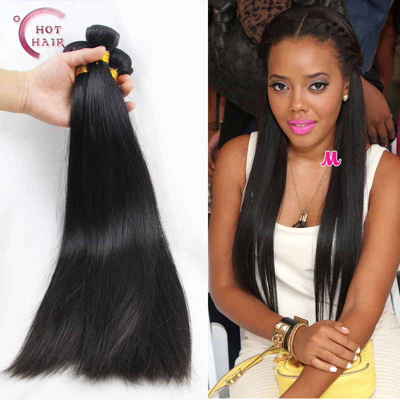 Unprocessed malaysian virgin hair straight 3 pcs /lot, tangle & shedding free, malaysian straight virgin hair wholesale(China (Mainland))