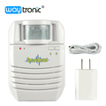 Indoor MP3 Door bell PIR Infrared Detector Public Voice Broadcast Home Security Alarm
