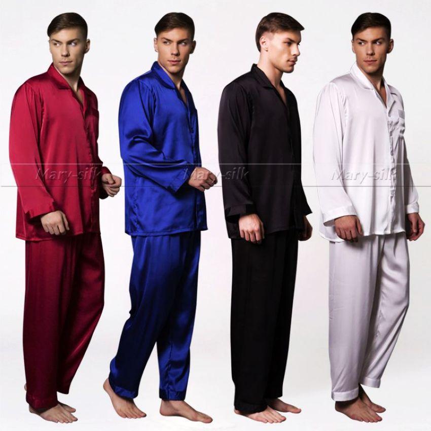 Купить шелковую мужскую пижаму в интернет магазине