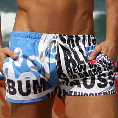 free shipping! swimming trunks beach wear/ men's leisure wear /sexy beach casual short sea shorts surf board wear running(China (Mainland))