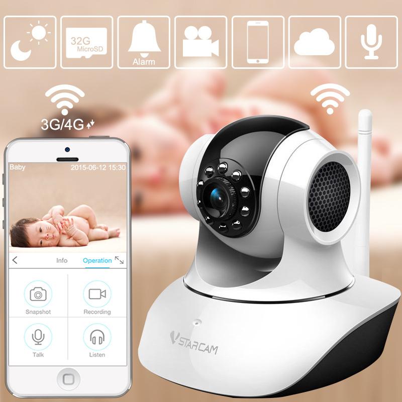2MP 720P Video Baby Monitor wireless IR Video Talk intercom one Camera Night Vision video / audio Baby Monitor digital WiFi Baby(China (Mainland))