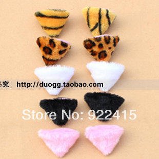 hot !Fox props masquerade party decoration cosplay hair accessory cat ears animal hair clips(China (Mainland))