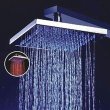Buy 8 Inch Single Function TemPerature Sensitive RaInfall LED Shower Head, Chrome for $21.85 in AliExpress store