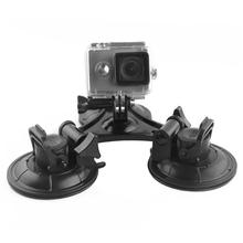 Buy Sj4000 Car Suction Cup Mount Xiaomi Yi Tripod Holder Adapter GoPro Hero 4 3 Sjcam Sj5000 Go Pro Camera Accessories for $16.80 in AliExpress store
