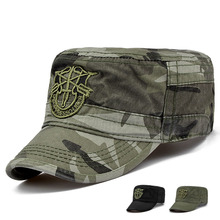 Adult outdoor travelling flat army hats women and men summer camo military baseball caps(China (Mainland))