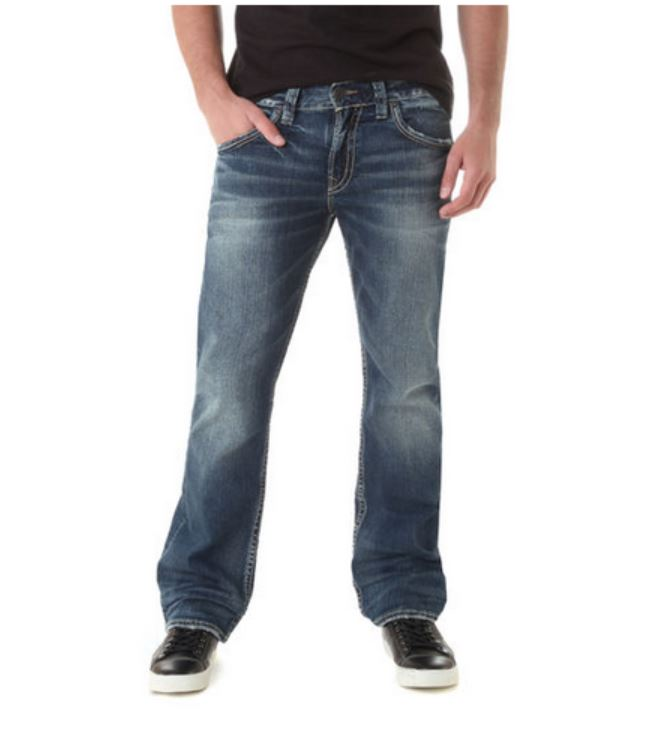 Silver Jeans Mens Sale Billie Jean