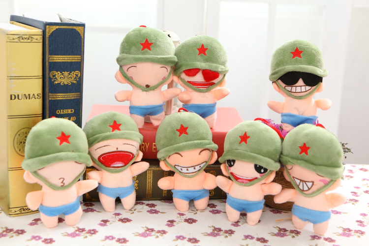 Cute Gift Plush Soldier Soft saving Private Ryan Toy Dear Doll Baby Kid Child Girls Christmas Birthday Happy Gifts(China (Mainland))