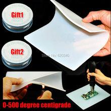 Heat-resistant Heat Gun BGA Soldering Station Repair insulation pad insulator pad desk mat maintenance platform+ solder wire(China (Mainland))