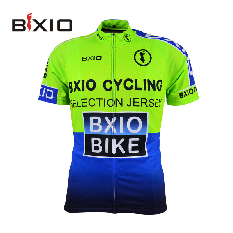 BXIO Short Sleeve Cycling Jersey Shirts Green Raiders Jersey Ciclismo Camisa De Bike Clothing Size XS-6XL Available 0209G004-J(China (Mainland))