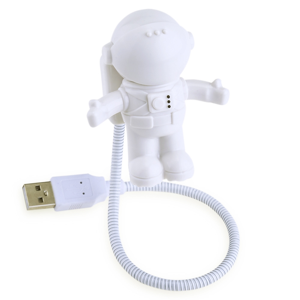 Fashion Creative Night-light Astronaut Figure USB Lamp Energy Saving Robot Electronic Toys For Children Low Price Selling(China (Mainland))