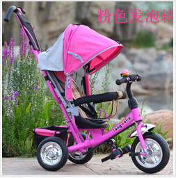 Children's baby stroller bike tricycle cart bicycle ride on car outdoor sports accessories toys gifts for kids girls boys 2015(China (Mainland))