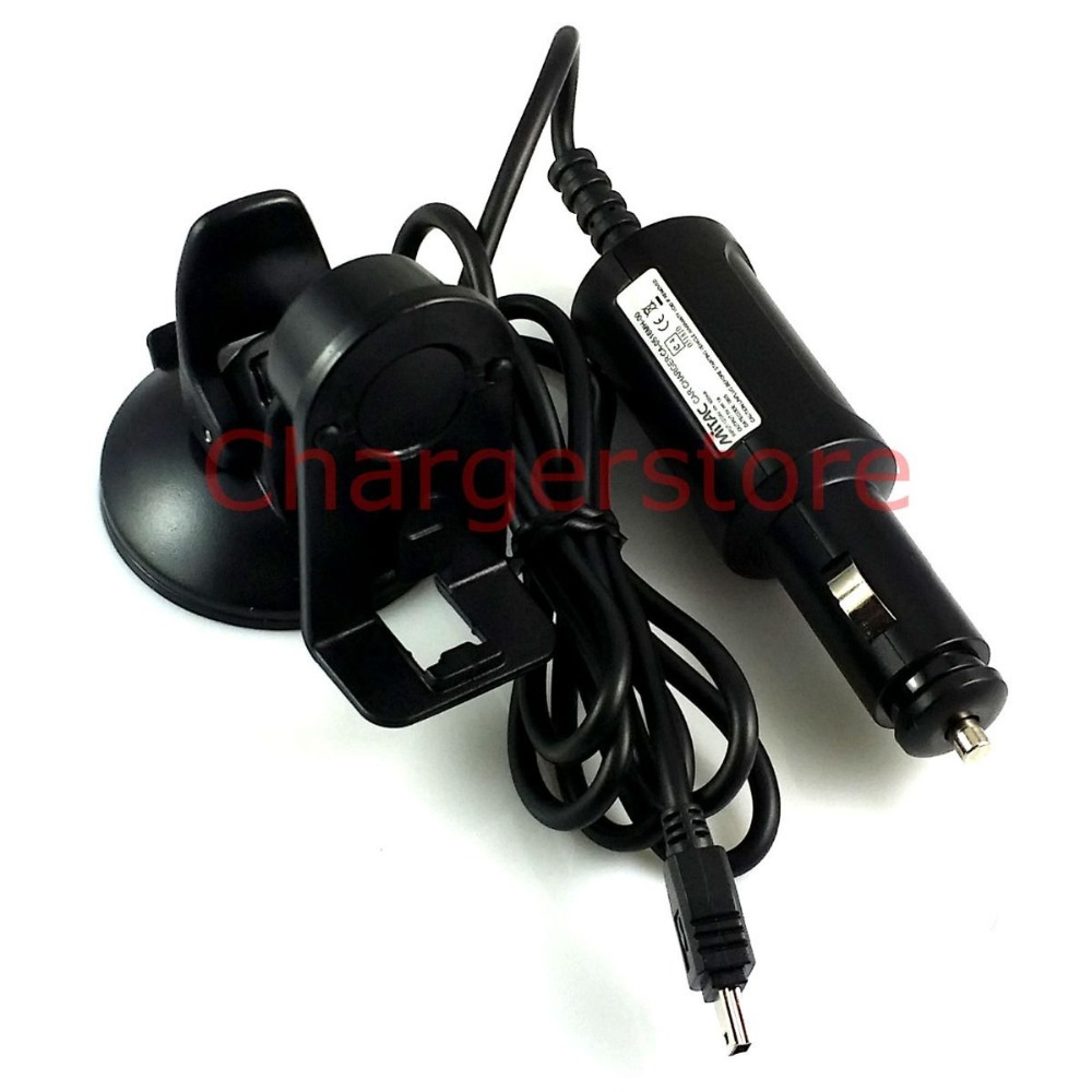 Original Mitac car charger + mount holder for Mio Navman ...