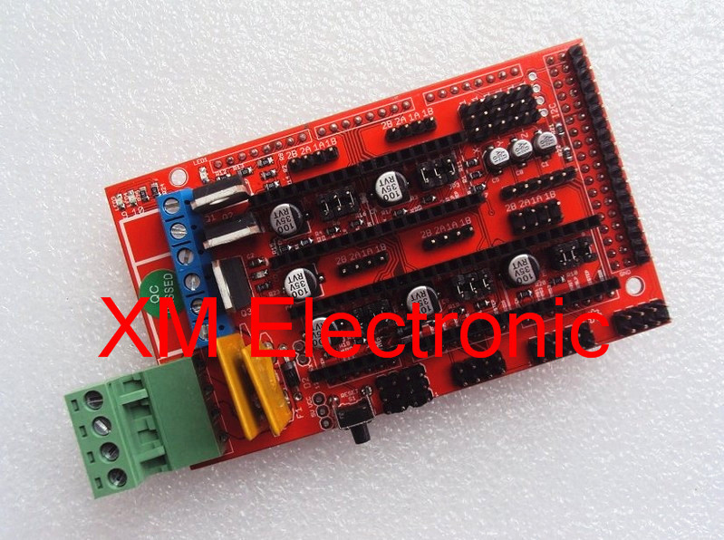 !! RAMPS 1.4 3D printer control panel printer Control Reprap MendelPrusa(China (Mainland))