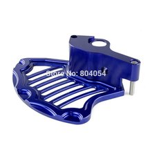 CNC REAR BRAKE DISC GUARD KTM 125-530 EXC SX SX-F XC XCW MXC 2004-2015 BLUE - A&M Kebull's Parts store