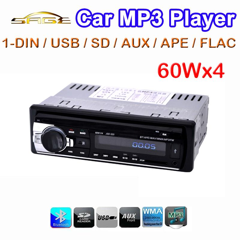 Digital Bluetooth Car MP3 Player / FM Radio Stereo Audio