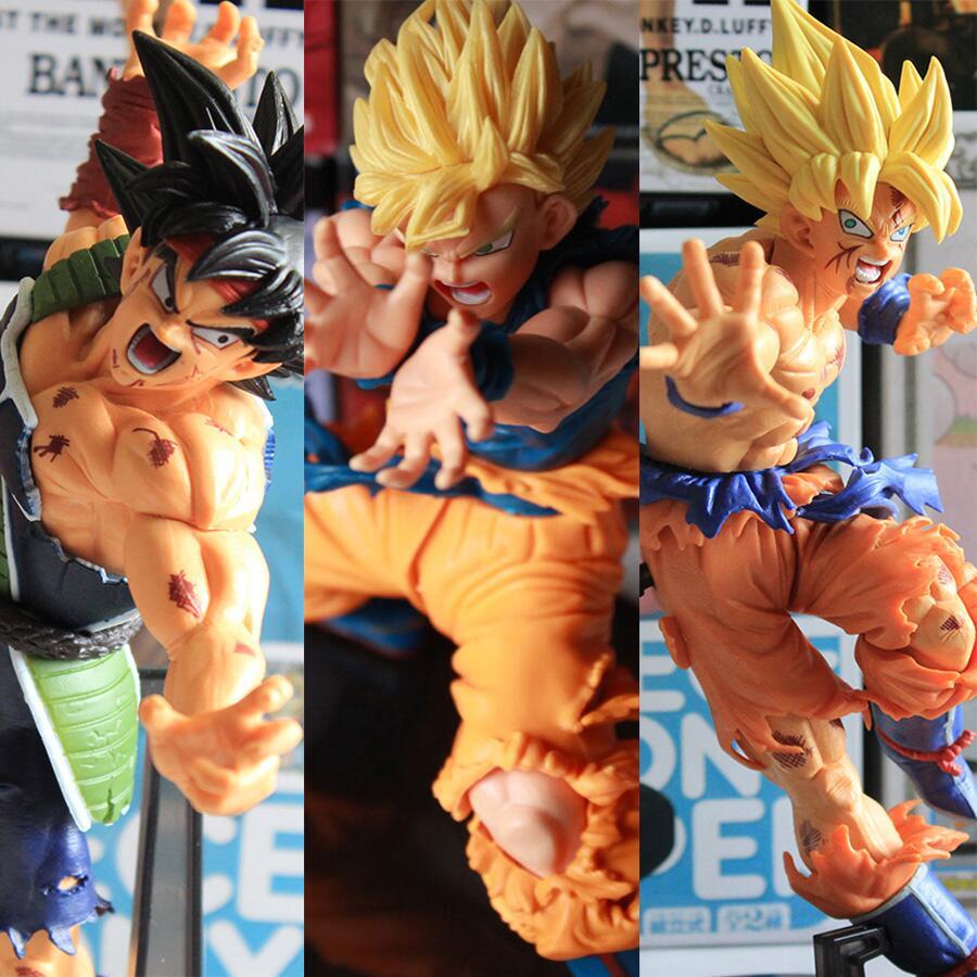 Dragon Ball Z Action Figures Goku Super Saiyan Anime PVC Model Collectible dragonball figurines children kids toys gift <br><br>Aliexpress