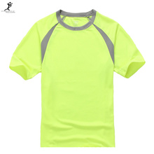 New 2015 Outdoor Sports Quick Dry UPF 50+ Running T-Shirt For Men 7 Colors 7Size