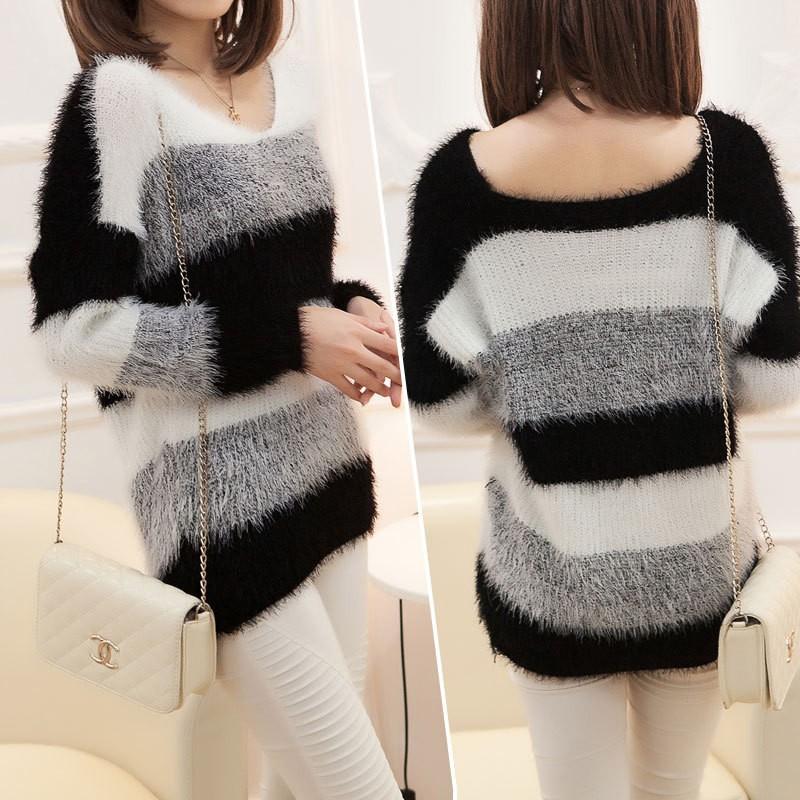 Женский пуловер NVzhuang Maoyi Thinken 007