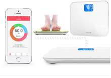 New Mecare Bluetooth 4.0 Smart Electronic Body Scales Family Health Weight Digital Scale