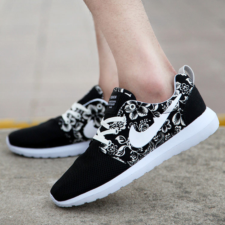 Causal sneakers Flower roshelis trainers women& men running shoes London Mesh RUN sports sneakers breathable shoes Fashion(China (Mainland))