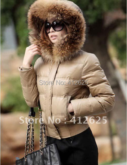 Promotion FAST FREE SHIPPING Winter Jackets Women Fashion Lady Down Jacket Winter Clothes Brand Down Coat 2 Colors warm Jacket