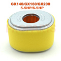 Small Engine Air Filter Cleaner For HONDA ENGINE GX160 GX200 5 5HP 6 5HP Element