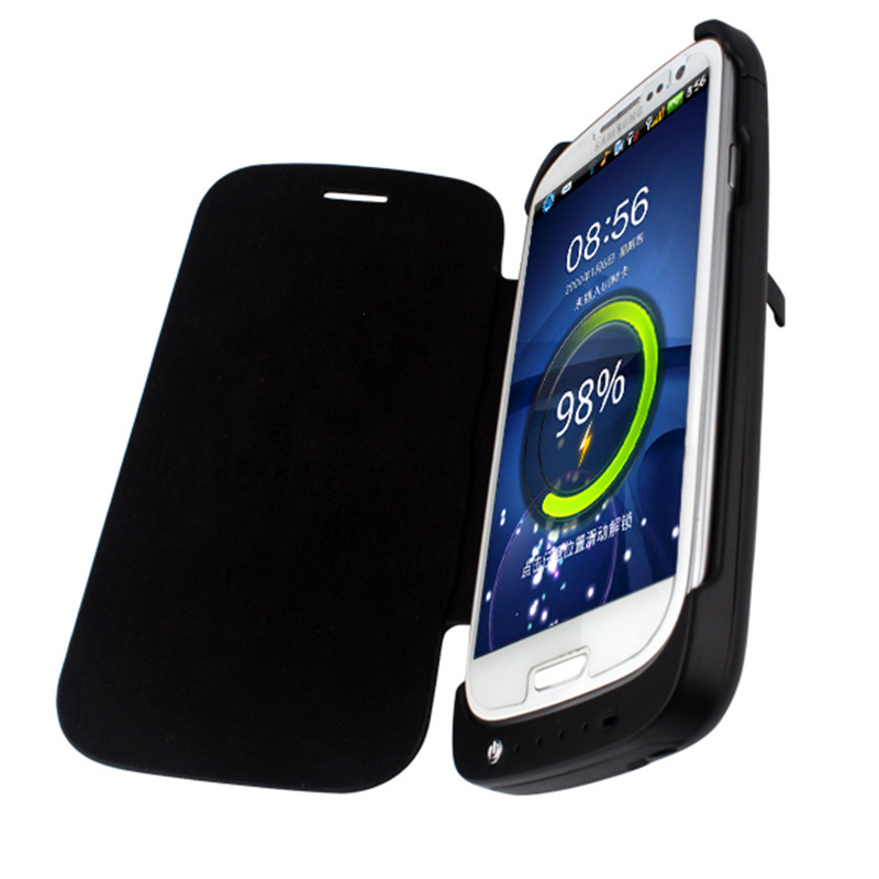 3200 mah portable ultra slim batterie externe chargeur for Housse samsung galaxy s3
