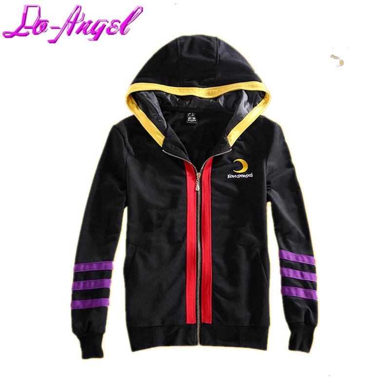 Assassination Classroom Korosensei Cosplay Costume Jacket Black Thin Hoodie Coat Unisex Casual Hooded Sweatershirt