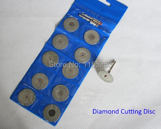 10 x 18mm Diamond coated cut Disc For Dremel Rotary tools