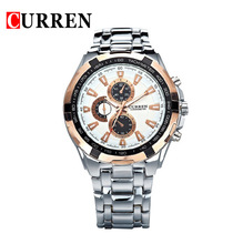 Original CURREN Brand Men Sports Watches Men Military Wrist Watches Casual Full Steel Men Watch 2015 Waterproof Reloj Relojes