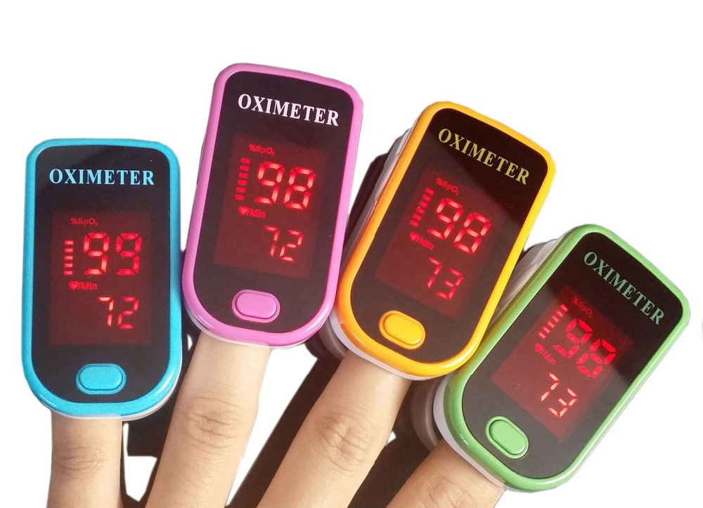 Portable Health Care OLED Finger-tip Pulse Oximeter Blood Oxygen Saturation Monitor Pulse Rate Sound Alarm Pulse Meter Monitor<br><br>Aliexpress