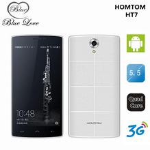 Presale!Original HOMTOM HT7 Android 5.1 MTK6580A Smartphone 1G RAM 8G ROM 5.5 Inch 1280×720 Cell Phone 5MP 3G WCDMA Dual SIM