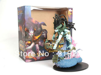 Wholesale/Retail Free Shipping FS World of Warcraft WOW LADY VASHJ Deluxe Collector Boxed Figure