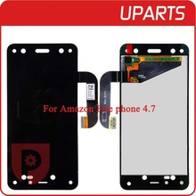 A+++ Brand New For Amazon Fire phone 4.7 LCD Display Touch Screen Assembly LCD Digitizer Glass Panel Replacement Free Shipping(China (Mainland))