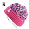 2017 Womans Sportsman Hats Bonnet Winter Beanie Knitted Wool Hat Jacquard Cap Female Mens Skullies Beanies