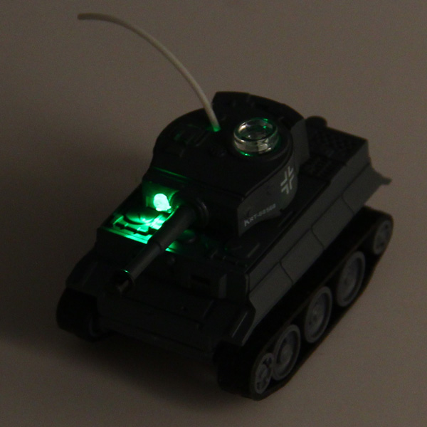 Happycow 777 - 215 49MHz Radio Control Mini War Tank with Lights