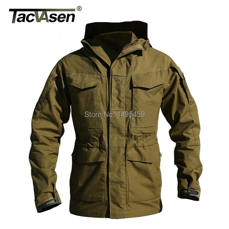 M65 Outdoor UK US Army Clothes Casual Military Tactical Jacket Windbreaker Men Winter Thermal Long Coat Hoody Jacket QZJL-004(China (Mainland))