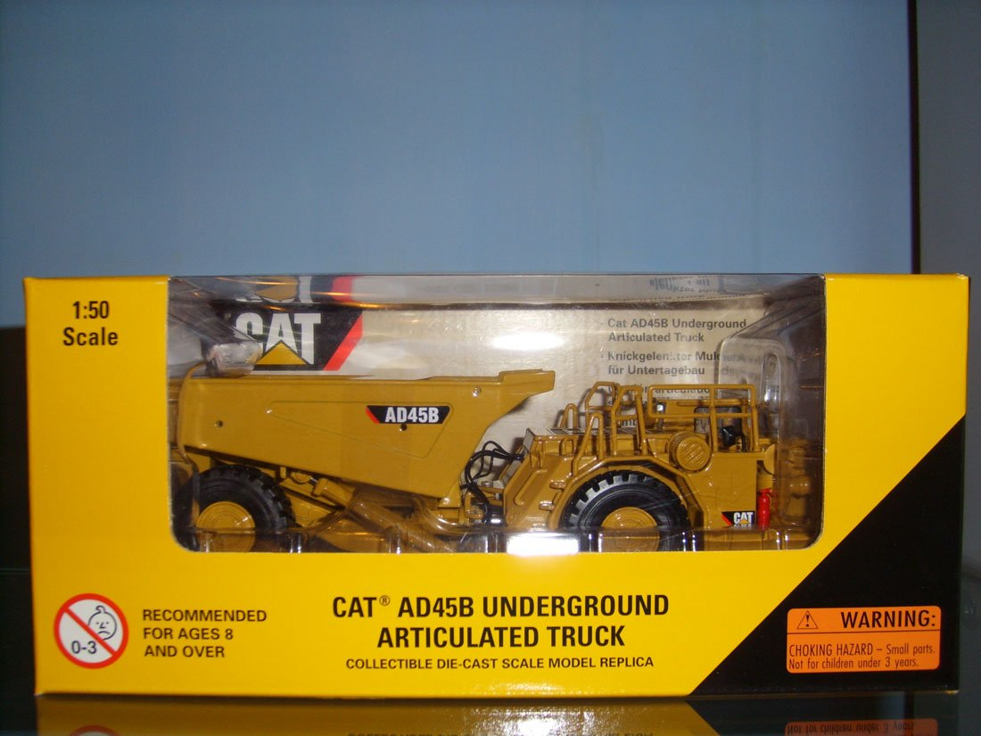 1:50 N-55191 CAT AD45B Underground Articulated Truck toy(China (Mainland))