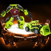 Новый Devastator Трансформация НЕ Коробочный Ko GT-1A Скребок Разрушитель Фигурку Детские Игрушки Для Детей(China (Mainland))