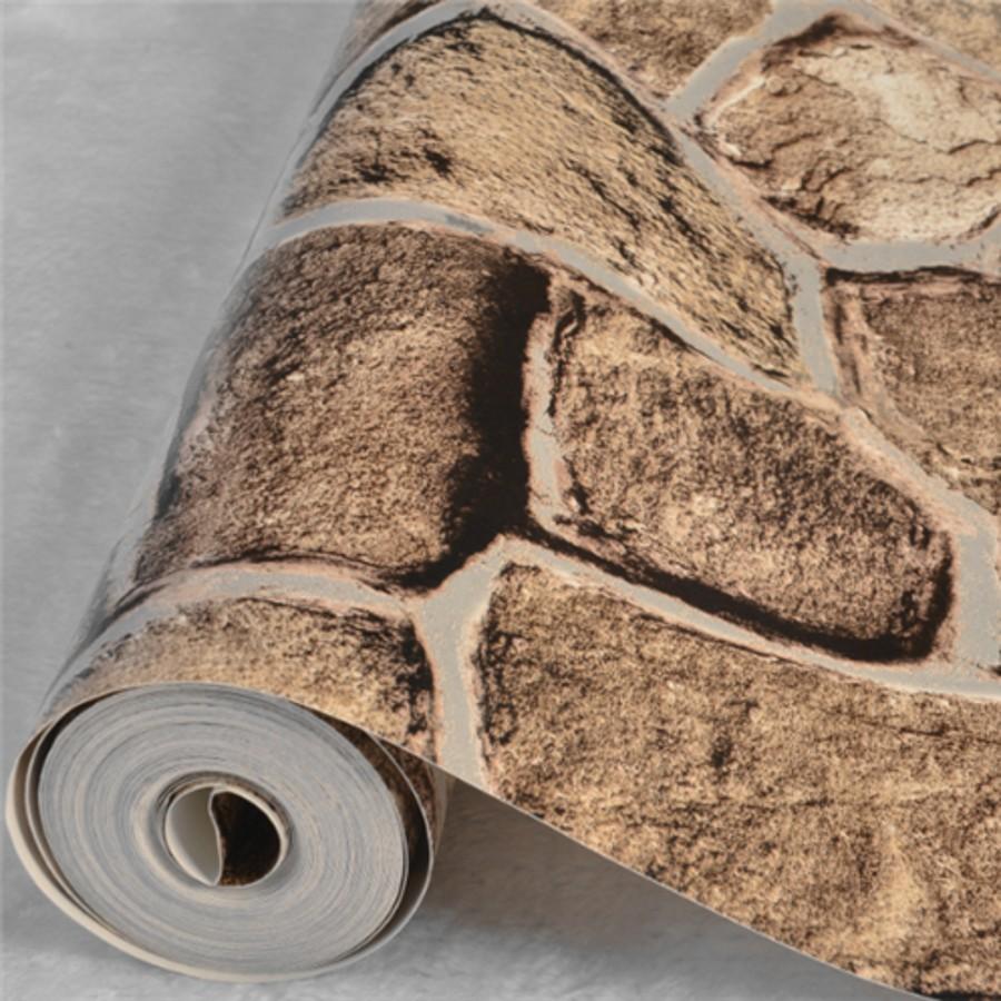 ... steen patroon pvc behang voor muren 3 d papel de parede sala papier