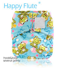 Buy  (12pcs/lot) Happy Flute OS Pocket Cloth Diaper,with stay-dry suede cloth inner,waterproof breathable fits babies 3-15kgs for $59.00 in AliExpress store
