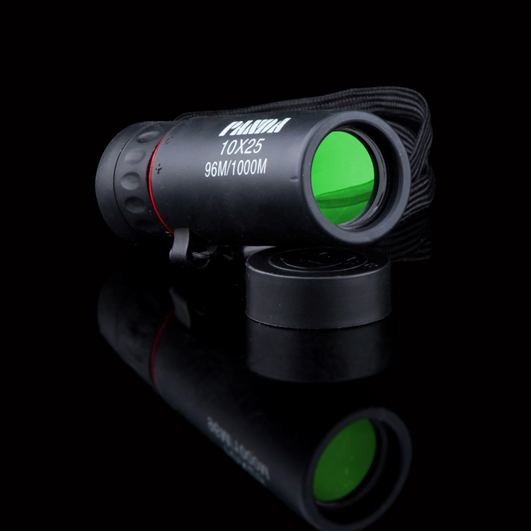 10 * 25 mini-Telescope High magnification HD Monoculars Easy to carry Outdoor Telescope Handheld Black the telescope<br><br>Aliexpress