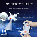 Original Upgraded Mini Drones 2 4G 6CH RC Quadcopter Helicopter RTF With Led Light Remote Control
