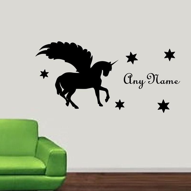 Achetez en gros licorne stickers muraux en ligne des - Stickers muraux personnalise ...