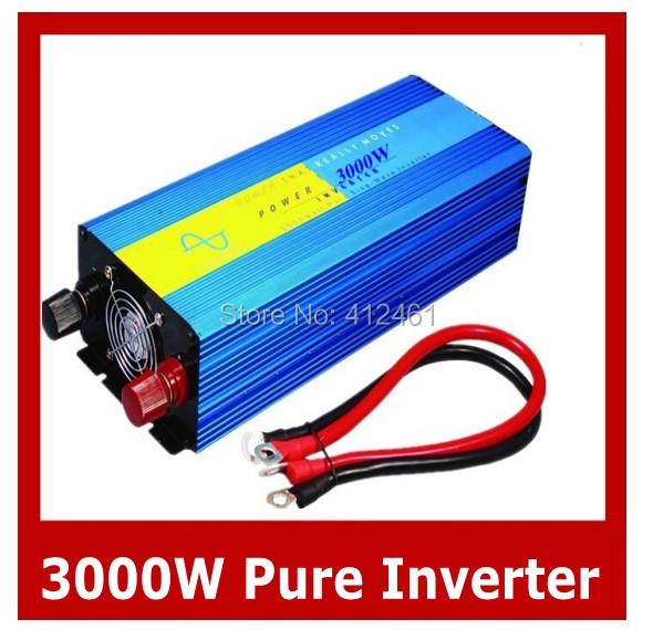 Hot Sell. High Efficiency 3000W DC12V/24V/48V Pure Sine Wave Inverter, Off Grid Tie Inverter, Solar Power Inverter<br><br>Aliexpress