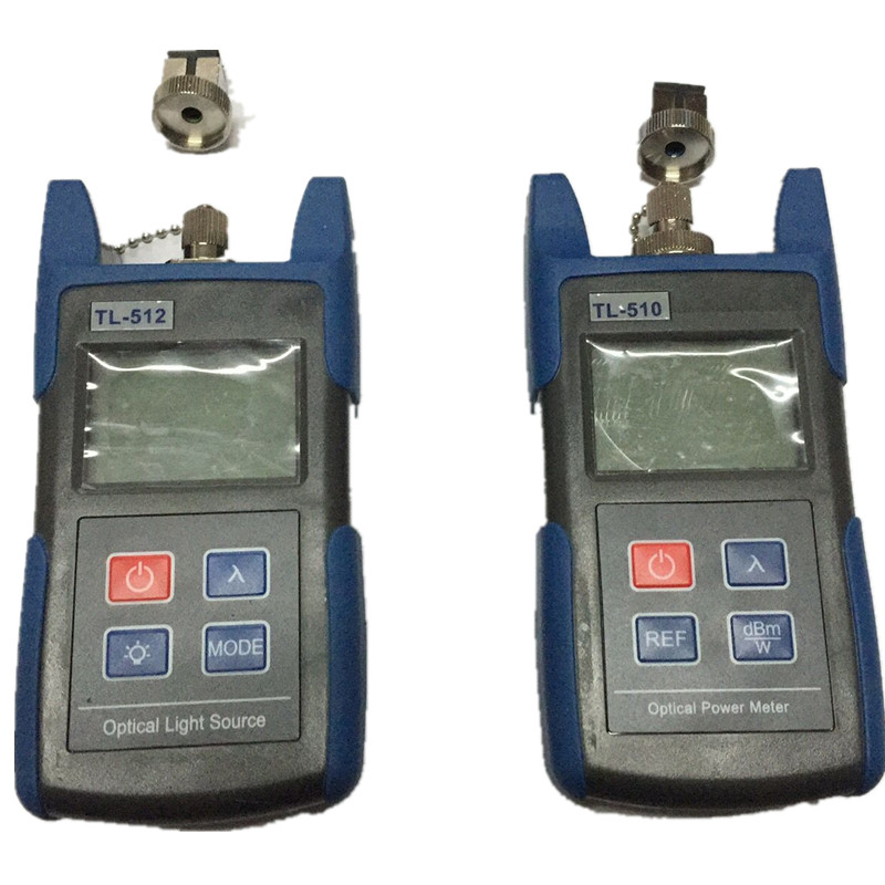 FTTH Optical Multimeter TL510A Optical Power Meter + TL512 1310/1550nm Optical Light Source Laser Source(China (Mainland))