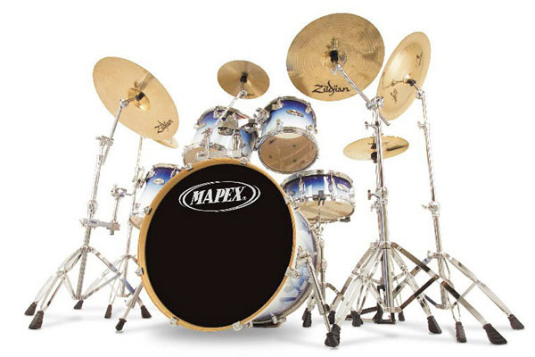 Drum Set Wall Decor : Custom inch room posters living wall stickers