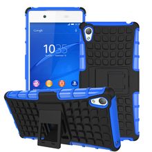 Sony Xperia Z4 Heavy Duty Armor Shockproof Hybrid Hard Soft Rugged Case Cover Z5 Z3 Mini E4 M5 M4 Aqua - Easy-Life Show store