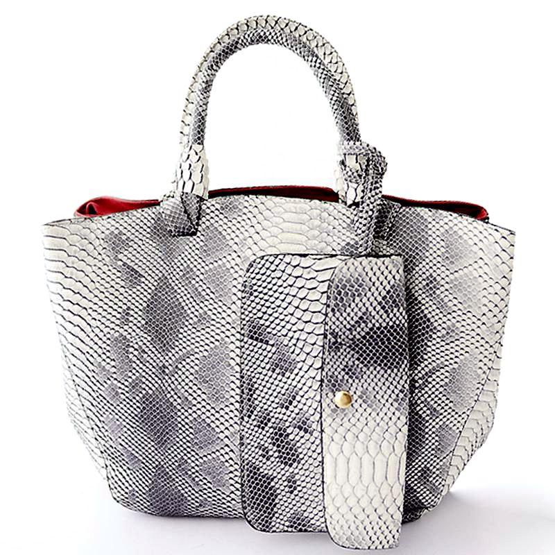 2015 leather bags crocodile snake skin women handbag fashion designer brand high quality shoulder bags ladies tote bag  A60-235<br><br>Aliexpress