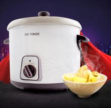 Free shipping Electric congee porridge soup white porcelain health slow cooker 1L(China (Mainland))